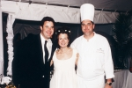 Amy Grant and Vince Gill and Tim Creehan - Amy Grant and Vince Gill Wedding