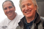 Alan Rickman and Tim Creehan