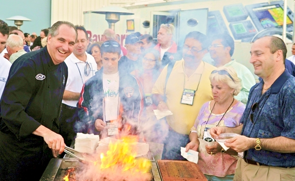 Tim Creehan 'Cooking with Creehan' SeaRay Yacht Expo