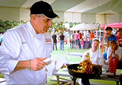 Tim Creehan 'Cooking with Creehan' Skillet Festival