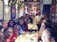 Tim Creehan hosts Nellie's Youth Village